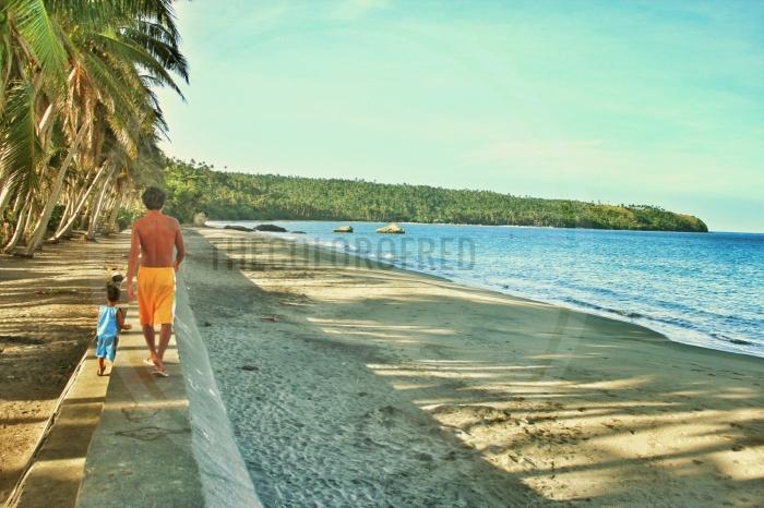 Coastal village, Sorsogon, Bicol