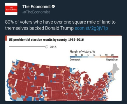 US presidential election results by county 1952-2016