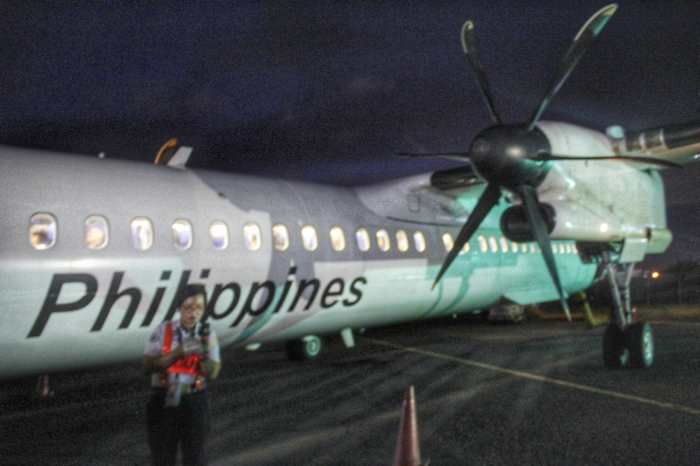 PAL Express Bombardier turboprop Q series