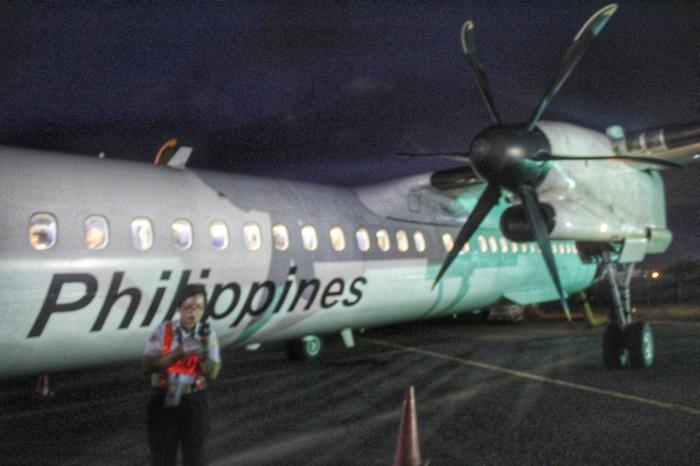 PAL Express Bombardier turboprop Q series