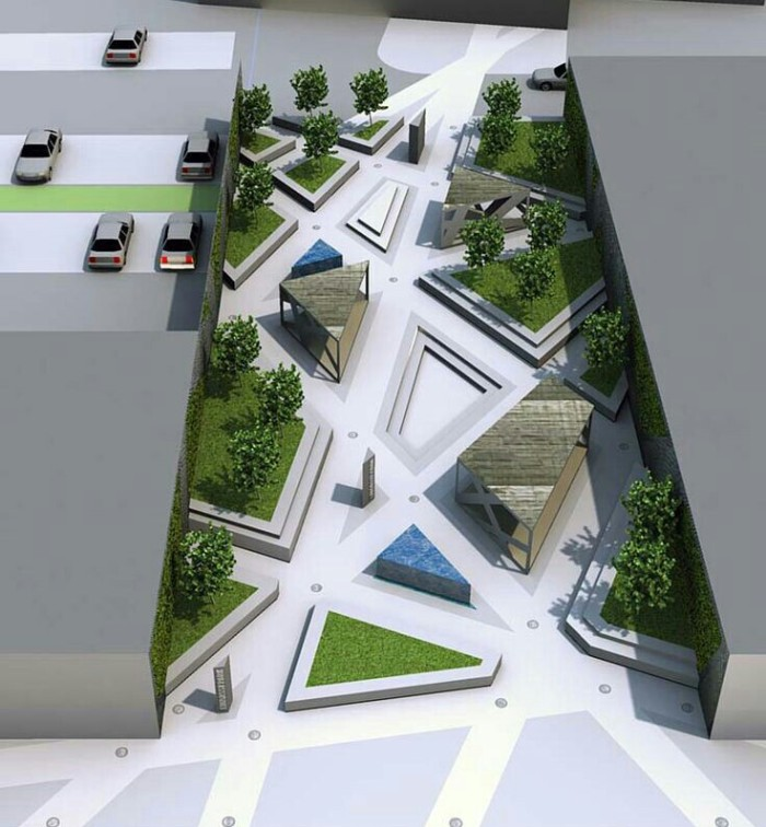 Parking area design