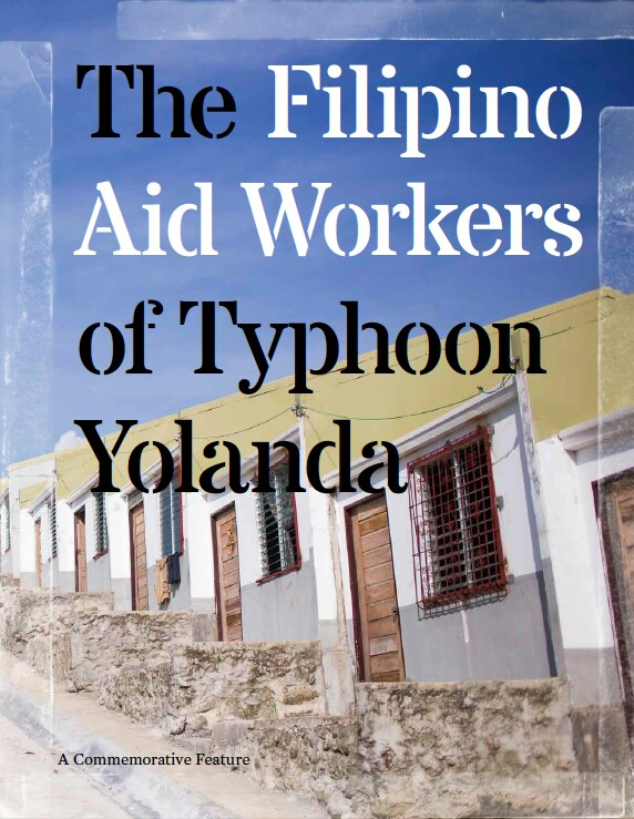 the filipino aid workers of typhoon haiyan